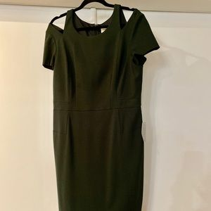 NWT.  Olive Green Nordstrom Dress
